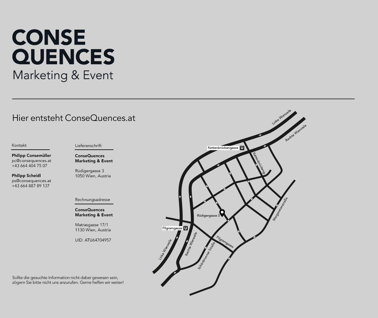 ConseQuences - Marketing & Event, Philipp Consemueller